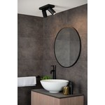 Spot LED plafond salle de bain blanc ou noir 2x5W GU10 dim to warm