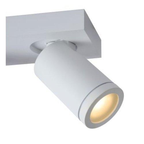 Plafonnier salle de bain 3 spots 3x5W LED GU10 blanc ou noir