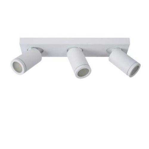 Badkamer plafondspots 3x5W LED GU10 wit of zwart dim to warm