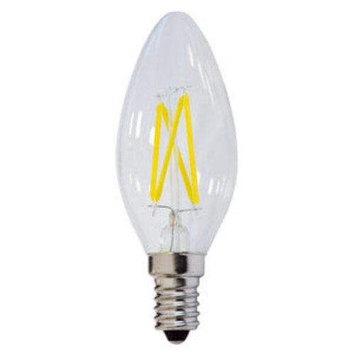 Kaarslamp 4W LED filament