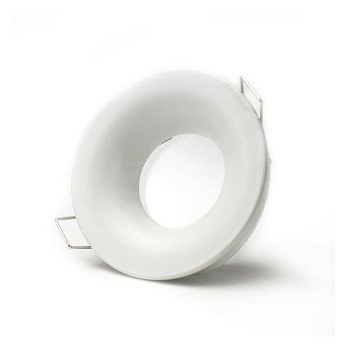 Spot encastrable IP65 230V blanc scie 70 mm