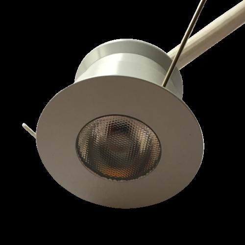 LED inbouwspot wit mini 30mm zaagmaat rond 4W dimbaar