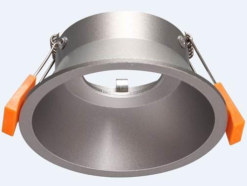 aluminium inbouwspot diameter 100mm