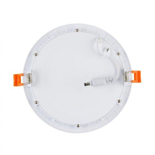 LED spot wit 18W rond 205mm zaagmaat