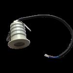 Mini spot extérieur 230V LED 3W dimmable sans transformateur blanc