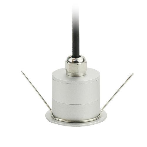 Mini LED spot 12V inbouw 3W dimbaar IP67
