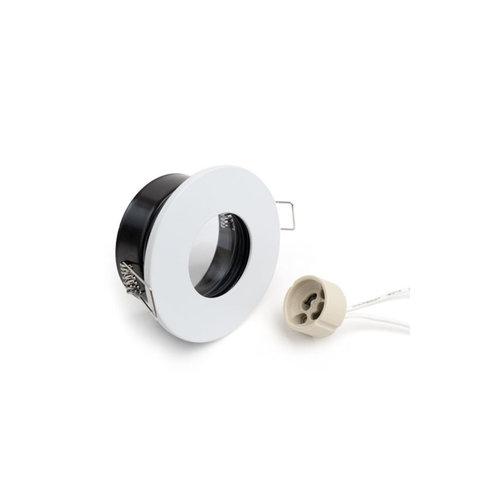 Inbouwspot IP65 GU10 grijs, zwart, wit, goud