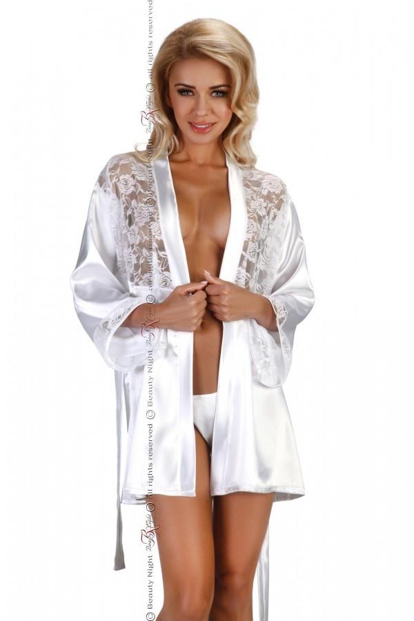 Sexy Witte Kimono-1
