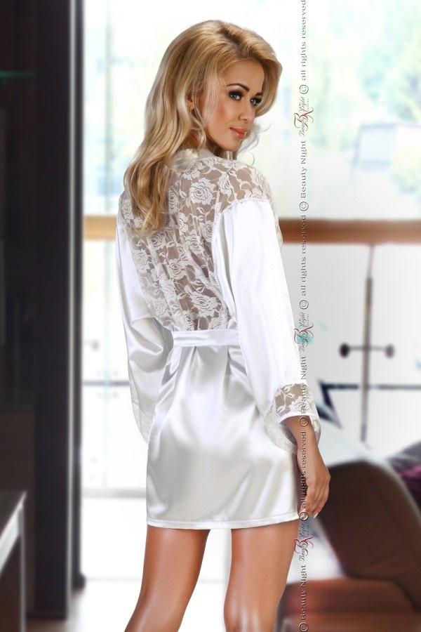 Sexy Witte Kimono-2