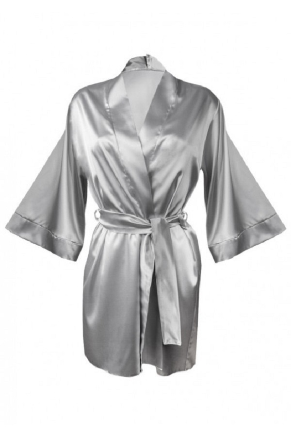 Zilvergrijze Kimono-3