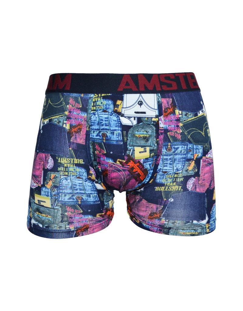 "AMSTERDAM GRAND MAN Katoenen Boxershort ""5038-AM"""