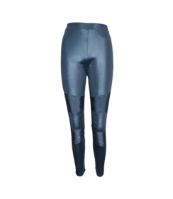 Dames Legging Lederlook 822