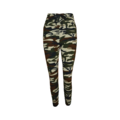FINE WOMAN® Dames Camouflage Broek 33039