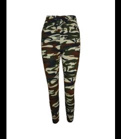 Dames Camouflage Broek 33039