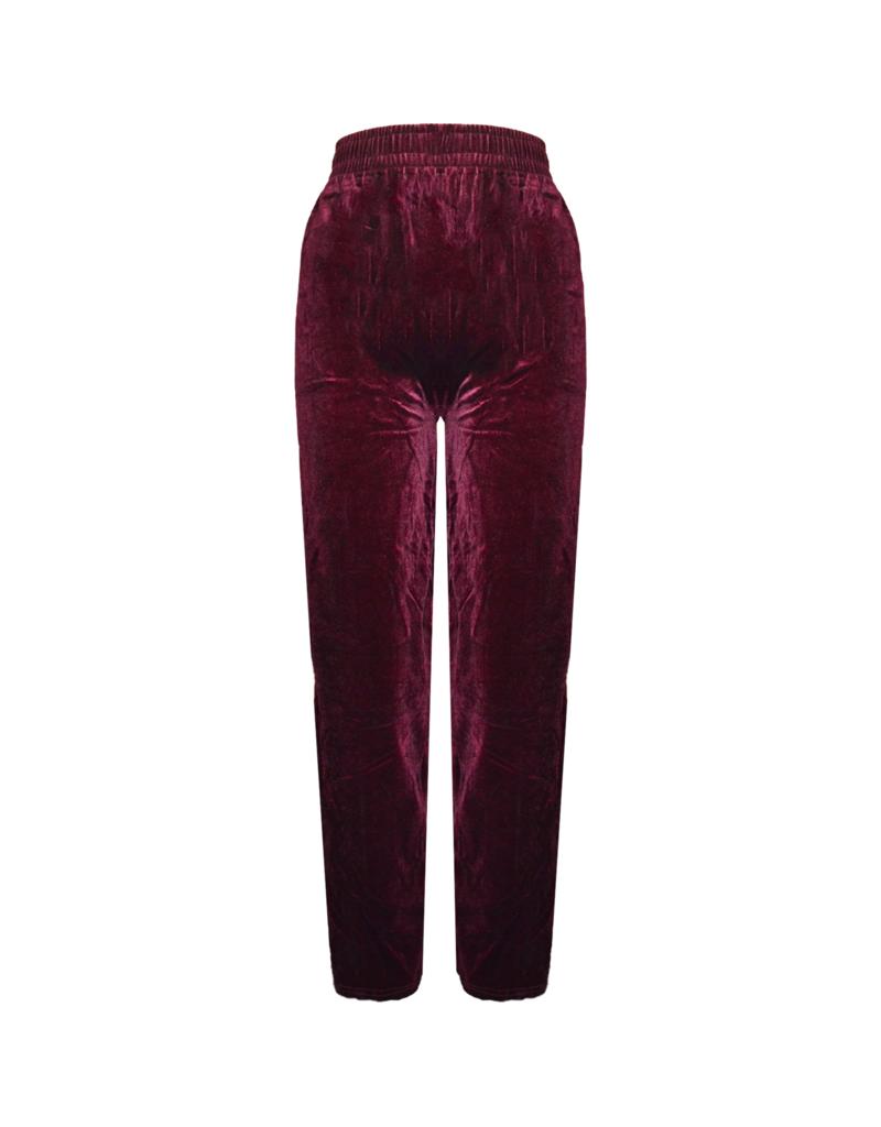 FINE WOMAN® Women's Pants Velour 33032