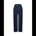FINE WOMAN® Dames Broek Velours Striped 33086