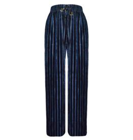 FINE WOMAN® Damen Hosen Velours Striped 33086