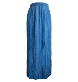 FINE WOMAN® Dames Lange Rok Geplooid 33062