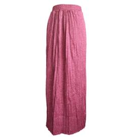 FINE WOMAN® Dames Lange Rok Geplooid 33065