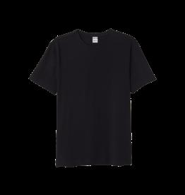 GRAND MAN Men's Cotton Undershirt - Black