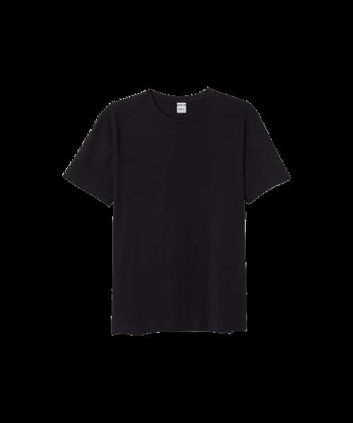 GRAND MAN Heren Katoenen T-shirt - Zwart
