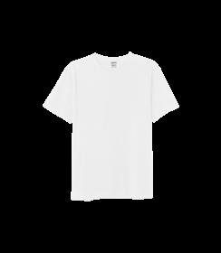 Herren Baumwolle T-shirt - Weiß