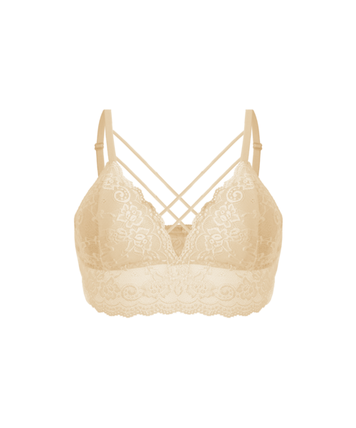 FINE WOMAN® Cup B/C - 6801 Padded Bra with Lace