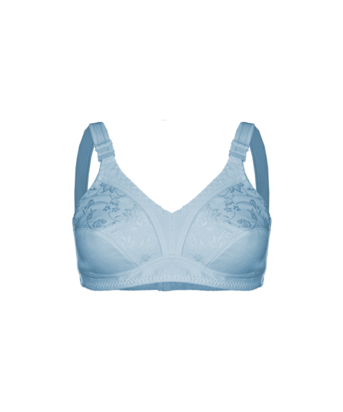 FINE WOMAN® Cup C/D - 3790 Bra without padding and underwire