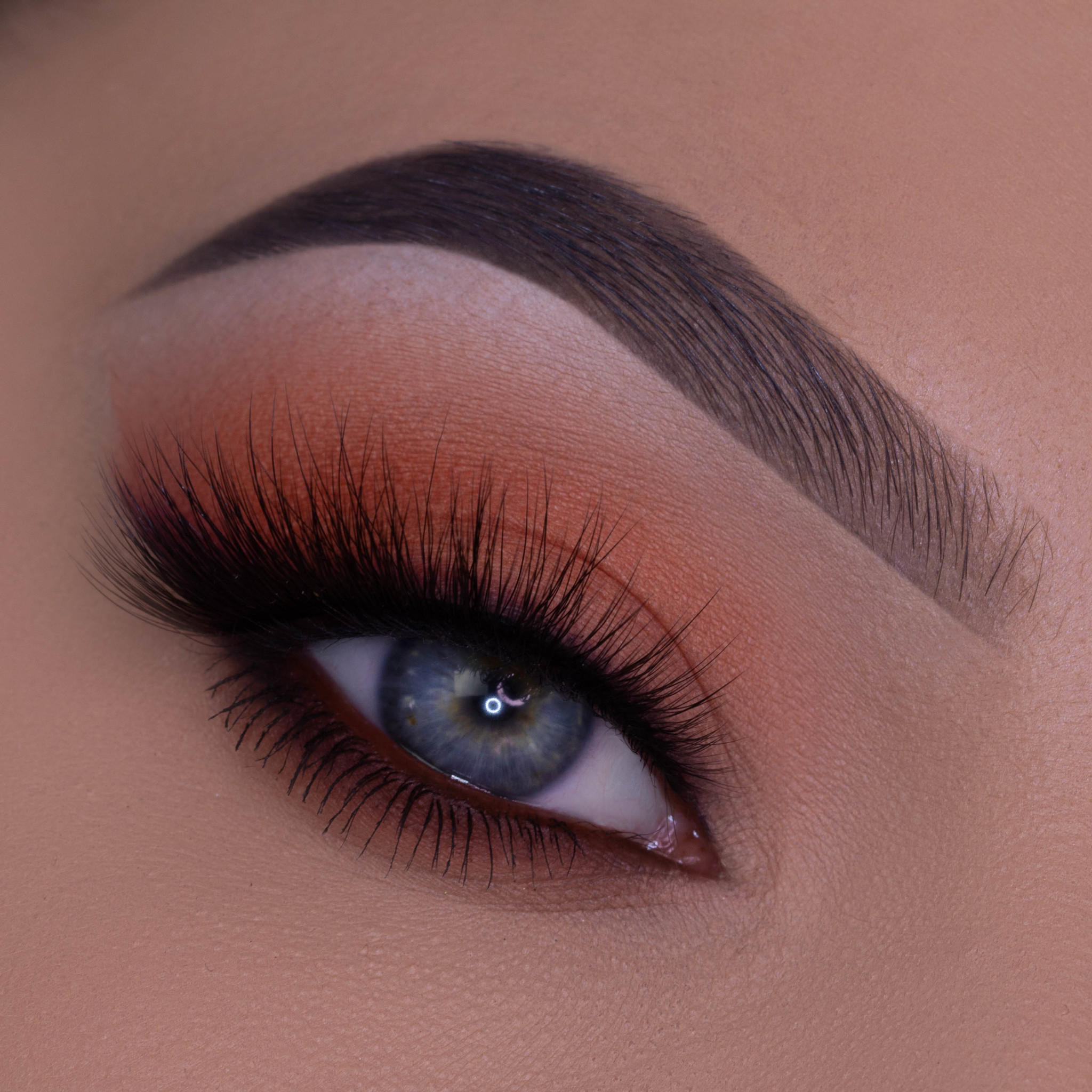 Brown Daytime Glam Eye Makeup