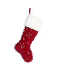 Christmas Stocking met Stralende Kerststerren