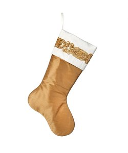 Gouden Christmas Stocking
