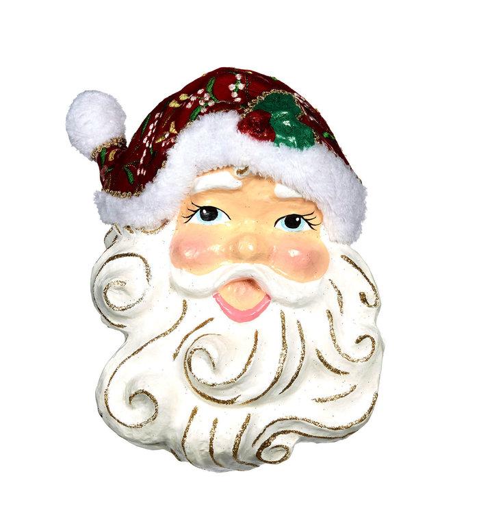 Vrolijk Kerstman Gezicht Kerstdecoratie om op te hangen