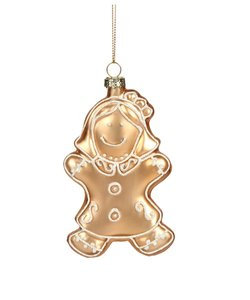 Gingerbread Girl Kerstboomhanger