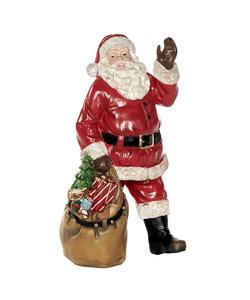 Kerstman Figuur met Cadeauzak