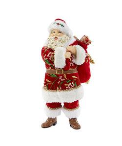 Kerstman met Mistletoe en Pakjes