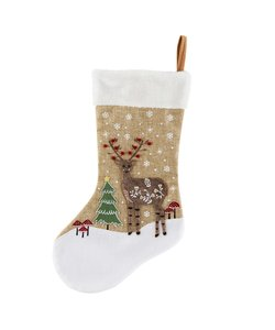 Hert in Winterbos Christmas Stocking