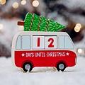 Sass & Belle Kerst Camper adventskalender met blokjes