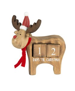 Rudolph Rendier Kerst aftelkalender