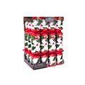 Traditionele Hulst Christmas Crackers familie - set van 12