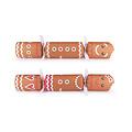 Gingerbread Christmas crackers - deluxe gourmet - set van 6