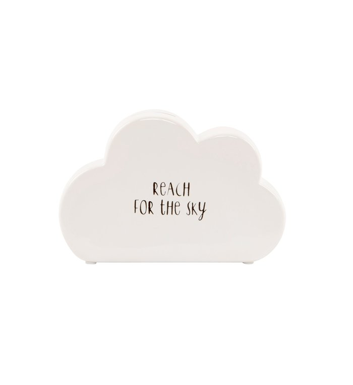 Sass & Belle spaarpot wit wolkje uit de Sweet Dreams collectie