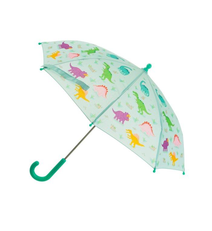 Sass & Belle dinosaurus kinder paraplu uit de Roarsome Dinosaurs collectie