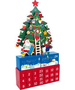 Adventskalender Kerstboom Versieren