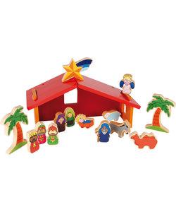 Kinder Kerststal Speelset
