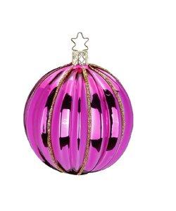 Kerstbal Roze Phantasy