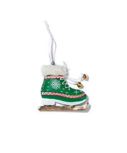 Kerstboomhanger Groene Schaats