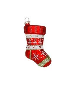 Kerstboomhanger Rode Christmas Stocking