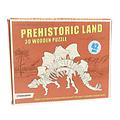 Rex London stoere houten 3D puzzel Stegosaurus
