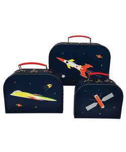 Ruimte koffertjes