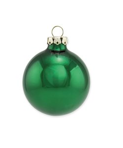 Kerstballen Spar Groen 10 cm - set van 2